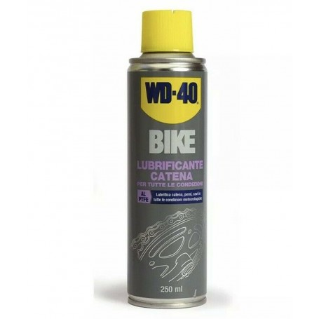 Wd-40 Bike Chain lubricant for all conditions 250 ml cod. 39703/46