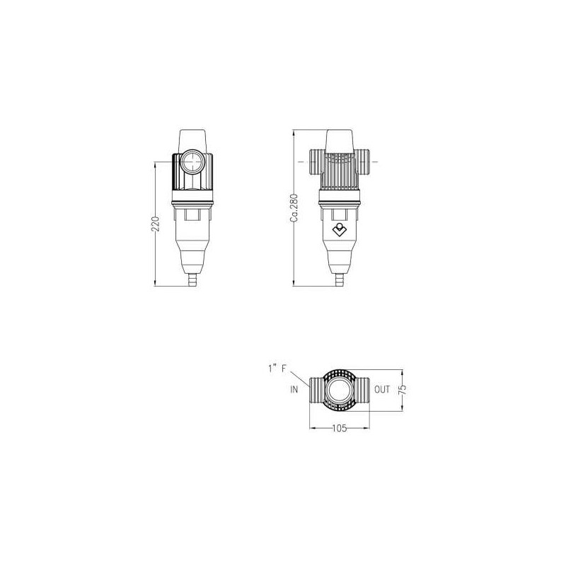 Contatore Acqua Fredda Cb 2 ACQUA BREVETTI SRL 9900400015