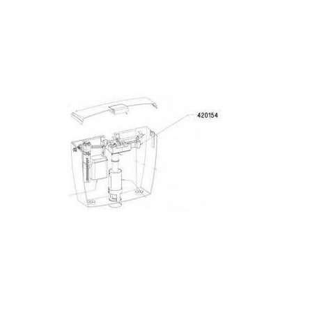 Pump Minidos 1/2F Brass - Acquabrevetti PM020
