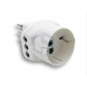 LAMPADA LED OLIVA 2,5W E14 220LUMEN 4000°K SMERIGLIATA 20000H BEGHELLI 56909
