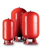 Various expansion vessels